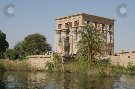 Egyptian temple stock photo, Egyptian temple, Egypt, Africa      by Albo