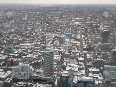 Aerial View of Toronto stock photo, Aerial View of Toronto, Canada by Ritu Jethani