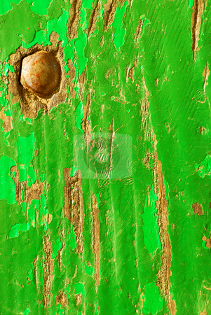Green wood texture  stock photo, green wood texture close-up by sutike