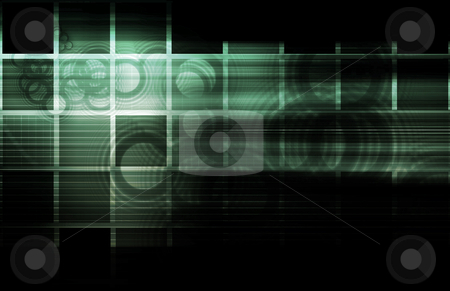 Business Technology stock photo, Business Technology with a Corporate Abstract Art by Kheng Ho Toh