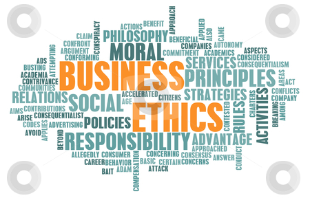Business Ethics stock photo, Business Ethics and Guidelines as a Concept by Kheng Ho Toh