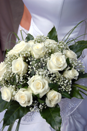 Bride's bouquet stock photo, Bride's bouquet by sutike