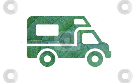 Eco green energy car  stock photo, Eco green energy car by rufous