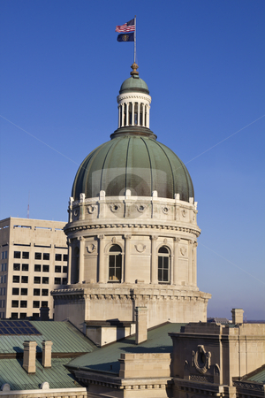 State Capitol Building in Indianapolis stock photo, State Capitol Building in Indianapolis, Indiana, USA by Henryk Sadura