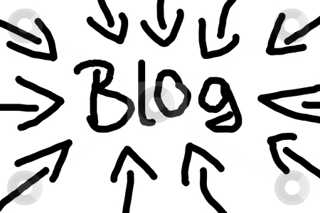 Blog stock photo, internet web blog illustration showing rss concept by Gunnar Pippel
