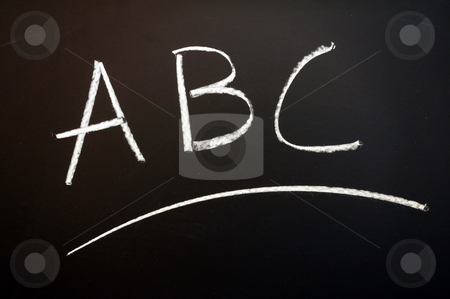 Blackboard and education stock photo, blackboard or chalkboard showing education or school concept                                      by Gunnar Pippel