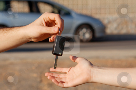 New car keys or car hire or rental stock photo, new car keys or car hire or rental by mandygodbehear