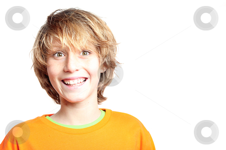 Happy smiling surprised kid stock photo, happy smiling surprised kid by mandygodbehear