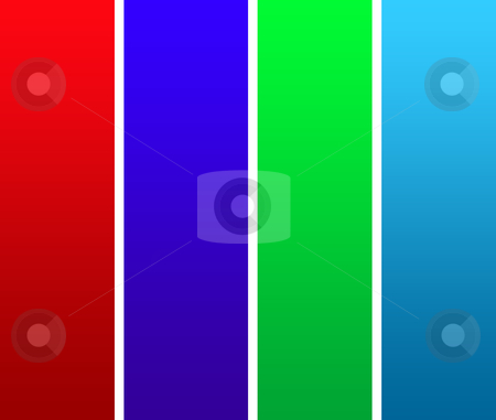 Colorful stiped background stock photo, An abstract background of colorful vertical stipes. by Martin Crowdy