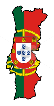 cutcaster-photo-801000225-Portugal-flag-