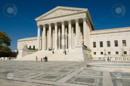United States Supreme Court stock photo, United States Supreme Court in Washington, DC by dcslim