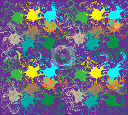 Colorful abstraction of vector illustration stock photo, colorful abstraction of vector illustration on the purple by vetdoctor