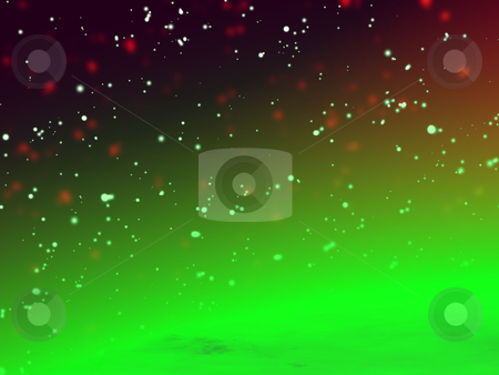Green planet stock photo, Image, illustration of the beautiful immense universe with the green planet. by Edvard Molnar
