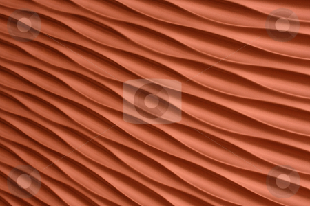 Orange artistic background stock photo, Orange artistic background with waves and stripes by Roberto Giobbi