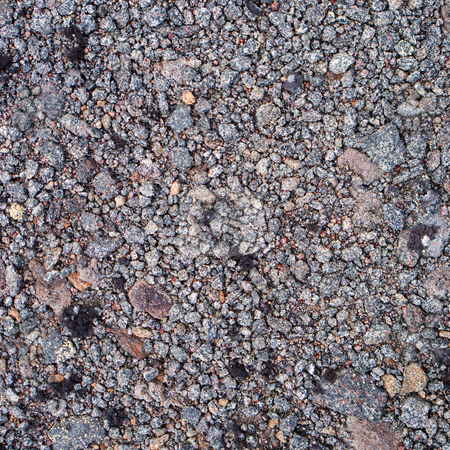 Surface of stony ground stock photo, Surface of stony grey mountain ground by Alexey Romanov