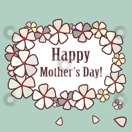 Mothers Day card  stock photo, Mothers Day card , vector illustration by kariiika