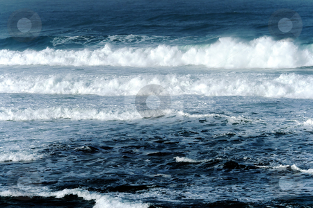 Waves after a storm stock photo, Waves after a storm in Mediterranean sea, Israel by Tatjana Keisa