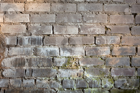Background with old grunge brick wall stock photo, Abstract background with old grunge brick wall by Alexey Romanov