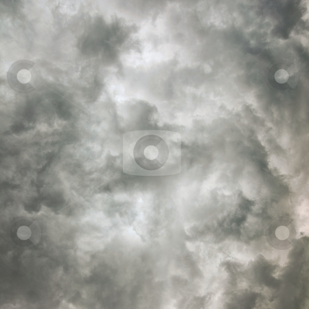 Cloud texture night sky before the storm stock photo, Cloud texture of the dark night sky before the storm by Alexey Romanov