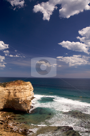 Summer scene of Twelve Apostles stock photo, Summer scene of Twelve Apostles by Vividrange