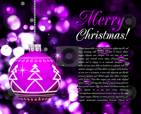 Background with Christmas balls, illustration stock photo, Background with Christmas balls, illustration  by sermax55