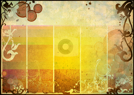 Backgrounds frame stock photo, floral style textures and backgrounds