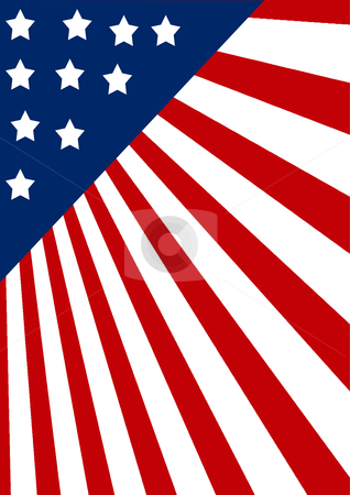 Accurate American background stock photo, Accurate American background detailed with beveled stars by ajithclicks