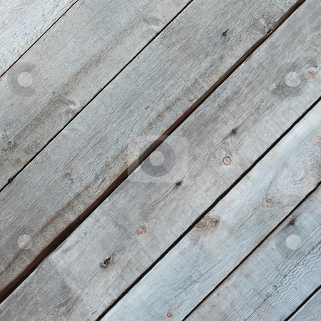 Wood surface - pine boards stock photo, Wood surface - rough old gray pine boards by Alexey Romanov