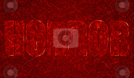 Horror  stock photo, Abstract Horror illustration in blood look by olinchuk