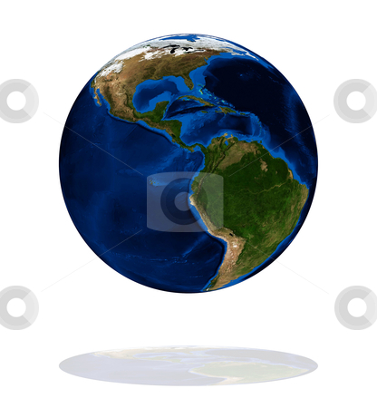 America on the Earth planet stock photo, America on the Earth planet. Data source: Nasa by olinchuk