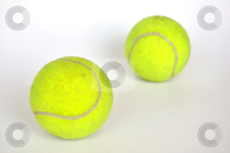 Tennis ball stock photo, Tennis ball by phanlop88