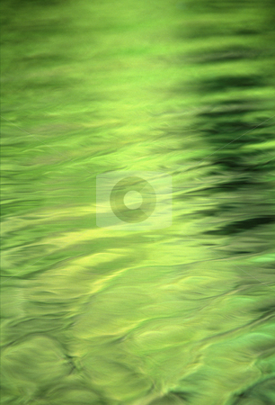 Water pattern stock photo, Green reflection on river, nature stock photography by Bryan Mullennix