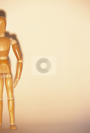 Wooden Mannequin stock photo, Artists mannequin and shadow, concept photography by Bryan Mullennix