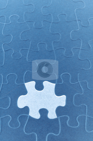 Missing puzzle piece stock photo, Puzzle missing piece, concept photography by Bryan Mullennix