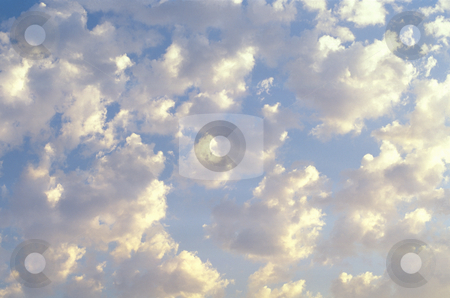 Cloudy in sky stock photo, Cloud filled sky, nature stock photography by Bryan Mullennix