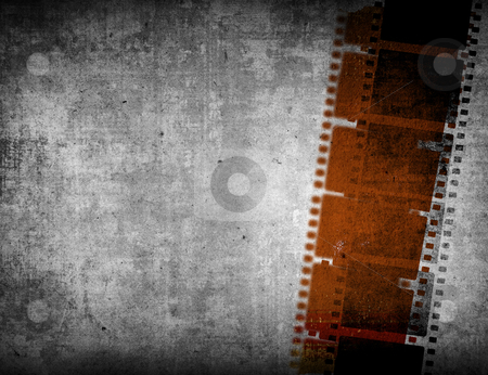 Great film strip  stock photo, Great film strip for textures and backgrounds with space  by ilolab