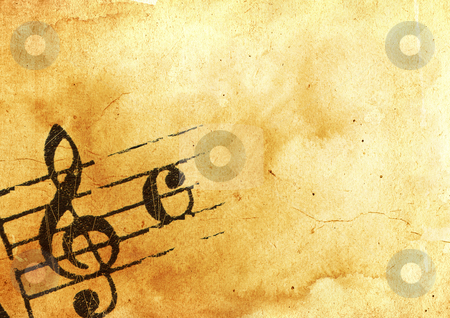 Grunge melody  stock photo, Abstract grunge melody textures and backgrounds with space  by ilolab
