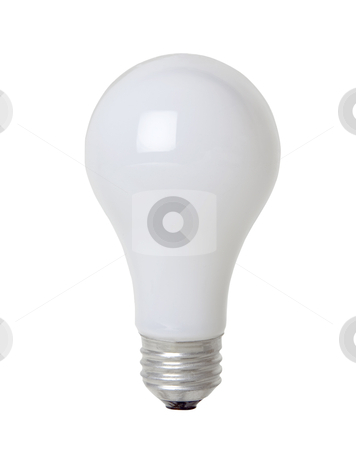Light Bulb - Photo Object stock photo, Light bulb, includes clipping path by Bryan Mullennix