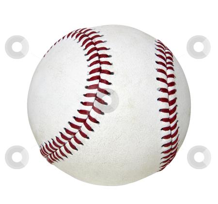 Baseball - Photo Object  stock photo, Baseball, includes clipping path by Bryan Mullennix