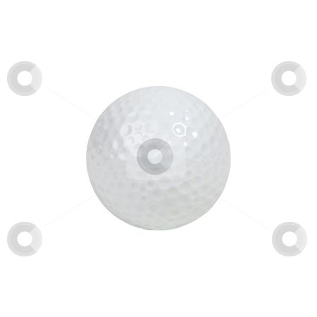 Golf Ball - Photo Object stock photo, Golf ball by Bryan Mullennix