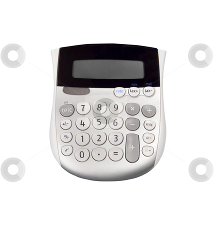 Calculator- Photo Object stock photo, Calculator, includes clipping path by Bryan Mullennix