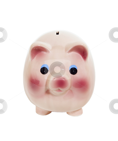 Piggy Bank - Photo Object stock photo, Piggy bank . Includes clipping path. by Bryan Mullennix