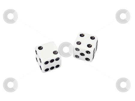 Dice - Photo Object stock photo, Dice, includes clipping path by Bryan Mullennix