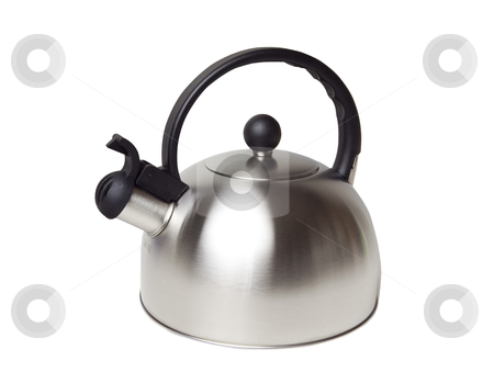 Tea Kettle - Photo Object stock photo, Tea Kettle, includes clipping path by Bryan Mullennix