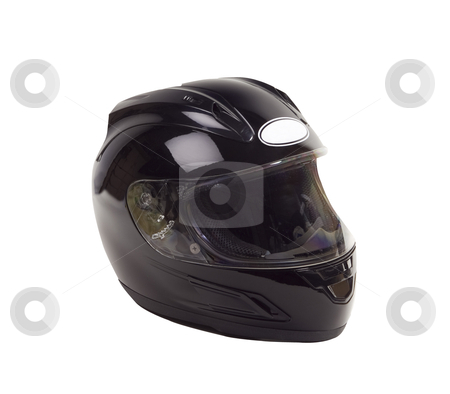 Motorcycle Helmet - Photo Object stock photo, Mototcycle Helmet by Bryan Mullennix