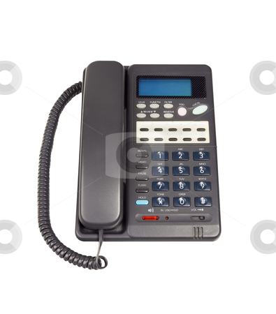Telephone - Photo Object stock photo, Telephone, with clipping path included by Bryan Mullennix