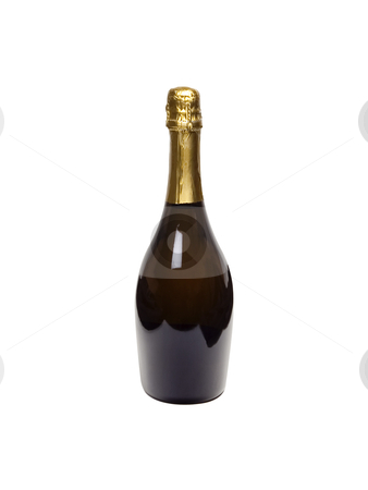 Champagne - Photo Object stock photo, Champagne Bottle, with clipping path by Bryan Mullennix
