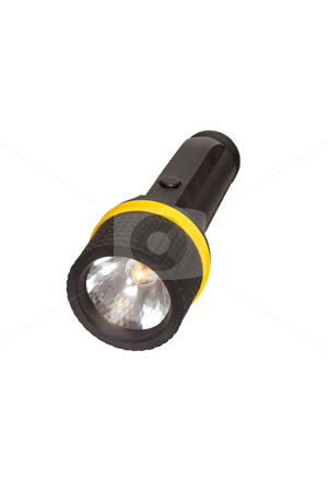 Flashlight - Photo Object stock photo, Flashlight, includes clipping path by Bryan Mullennix
