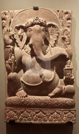Ganesha stock photo, Thailand, 17-18 century A.D. Cropped for icon usage by Perseomedusa