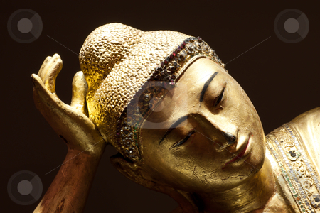 Buddha statue stock photo, Cropped for icon usage. good for conceptual. by Perseomedusa
